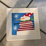 Christmas plate in New Orleans, Louisiana