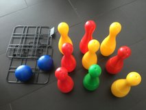 Bowling game for kids in Ramstein, Germany