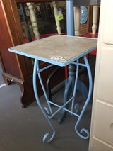 Shabby Chic metal table / stand in Byron, Georgia