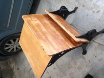 Antique school desk in Camp Lejeune, North Carolina