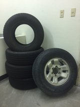 Toyota Surf Tires 265/70R16 in Okinawa, Japan