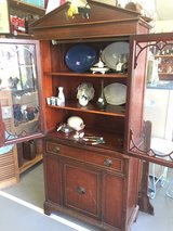 Vintage China cabinet hutch REDUCED in Warner Robins, Georgia