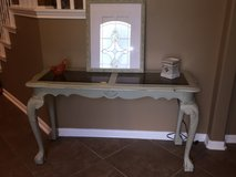 Beautiful refinished entry table in Baytown, Texas