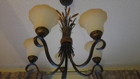5-Light Chandelier in oil rubbed bronze in Mayport Naval Station, Florida
