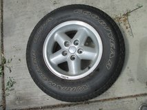 1 - Goodyear Wrangler GS-A Tire on JEEP Rim in Naperville, Illinois