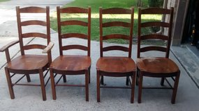 Solid Wood Dining Chairs in Kingwood, Texas
