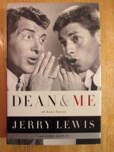 Dean & Me by Jerrry Lewis w Dean Martin Hard Cover Book w Dust Jacket. in Joliet, Illinois