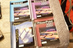Microsoft Office 2007 Excel, Access, PowerPoint & Word (4) College textbooks in Byron, Georgia
