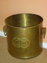 "13.5"" x 13.5"" brass planter in Naperville, Illinois"