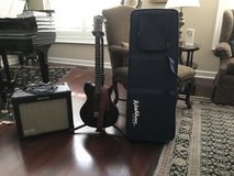 WASHBURN GUITAR & KUSTOM AMP in Joliet, Illinois