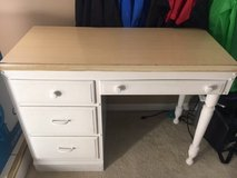 Solid wood desk in Naperville, Illinois