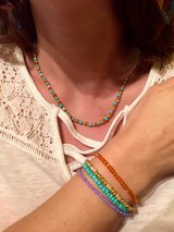 Set of 4 bracelets and necklace in Byron, Georgia
