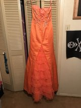 Orange Prom/Homecoming Dress in Tomball, Texas