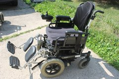 Invacare EXCEL Motorized/Electric Wheelchair Customized Amazing Look! original price $6,900.00 in Sugar Grove, Illinois