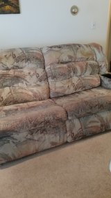 REDUCED. Sofas 2 pieces; one piece extends to a bed in Naperville, Illinois