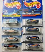 Hot Wheels 4 car series from 1997 & 1998 (Race Team III & IV) in The Woodlands, Texas