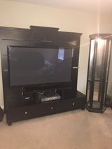 black Wall unit and curio cabinet in Byron, Georgia
