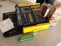 vape, charger , extra battery and juice in Fort Irwin, California