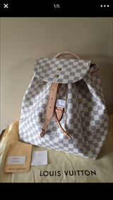 Damier Azur Backpack in Naperville, Illinois