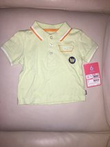 Boys new with tags carters polo shirt in Baytown, Texas