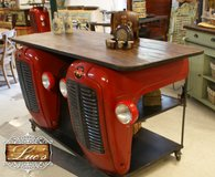 Kitchen Island made with Tractor Grills and Headlamps in Baumholder, GE