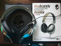 Skullcandy Aviator Mic3 Chrome Headphones in Travis AFB, California