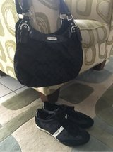 Authentic Coach Purse and Shoes in Spangdahlem, Germany