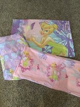 Tinkerbell twin size bedding / sheets in Camp Lejeune, North Carolina