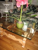 country french pickled pine coffee table in Plainfield, Illinois