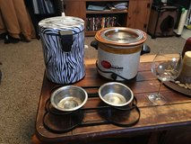 Crock Pot/Trash Can/Dog Bowls in Lawton, Oklahoma