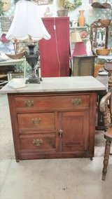 Walnut chest in Fort Campbell, Kentucky