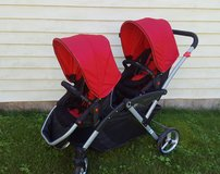 Reduced - Double Stroller - Contours Options Elite Tandum in Glendale Heights, Illinois