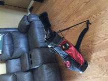 Junior youth right handed golf clubs used 3 times in Shorewood, Illinois