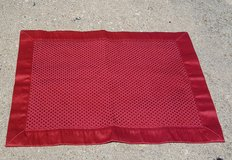 Dinning Room Placemats & Napkins (Red) in Bartlett, Illinois