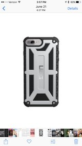 iPhone 7s+ UAG Phone case...silver in Tampa, Florida