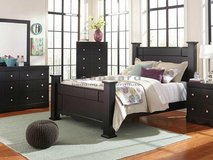 Shay Queen Poster Bed from Ashley's Furniture in Fairfield, California