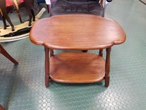 Solid Wood end table side table in Naperville, Illinois
