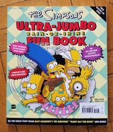 The Simpsons Ultra-Jumbo Rain or Shine 2-In-1 Fun Book in Yorkville, Illinois