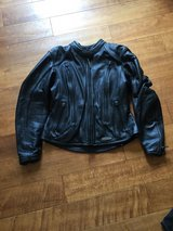 Leather Motorcycle Jacket in Camp Pendleton, California