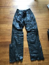 Motorcycle Leather Pants in Camp Pendleton, California