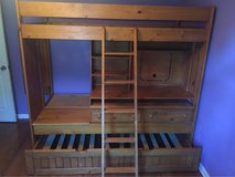 Loft bed solid wood in Fort Campbell, Kentucky