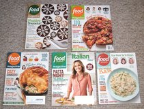 6 Food Network Magazines Jan Feb Mar Apr 2017 + Kids Issue & More in Joliet, Illinois