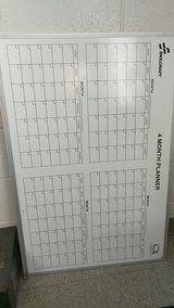 White Board Dry Erase 4 Month planner in Camp Pendleton, California