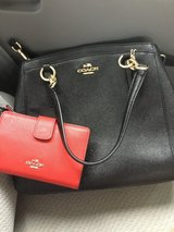 New Coach shoulder bag and wallet in San Diego, California