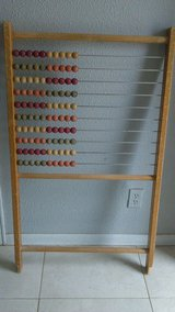 Vintage Wooden Abacus in Alamogordo, New Mexico