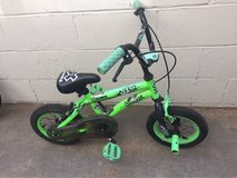 Green boys bike in Temecula, California