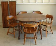 MAPLE TABLE  & CHAIRS in Aurora, Illinois
