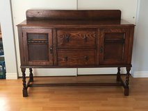 Antique English Oak Buffet/Sideboard/Bar in Camp Pendleton, California