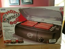 New-Hot Express Dog Rotary Grill in Naperville, Illinois