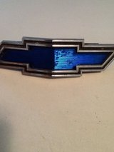 CHEVROLET TRUCK Original BLUE BOW TIE HOOD EMBLEM 1969 1970 in Alamogordo, New Mexico